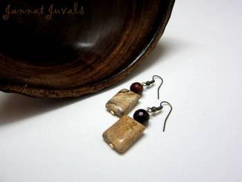 Marbles earring