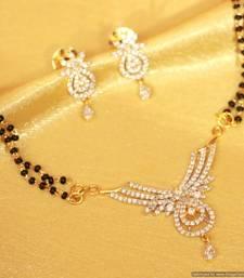 Buy Beautiful diamod look mangalsutra mangalsutra online