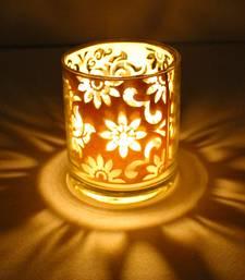 Buy Designer shadow glass diya diwali-home-decor online