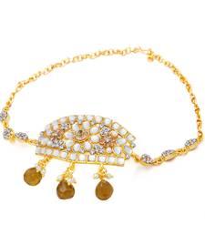 Buy Gold plated kundan bajuband bajuband online