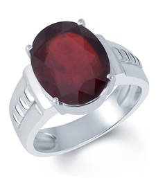 Buy 10ct Maroon Garnet gemstone-rings astrology-ring online