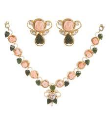 Buy Silver Coral gemstone necklaces gemstone-necklace online