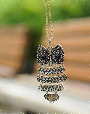 Owl NeckPiece