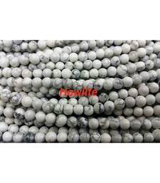 Buy Howlite 6mm 108 beaded mala chakra healing crystal gemstone jewellery other-gemstone online