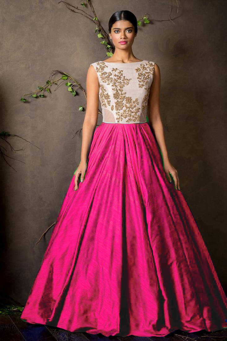 Tapeta Silk Gown Designs Online