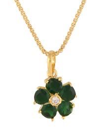 Buy Green Cubic Zirconia pendants Pendant online