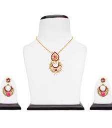 Buy Pearl set jewellery pearl necklaces set bridal jewellery sets Pendant online