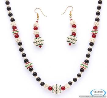 Vendee Unique fashion beads necklace jewelry 4962