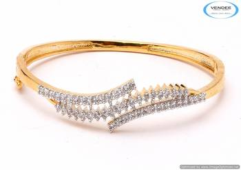 Vendee Fancy CZ diamonds bangle 5292