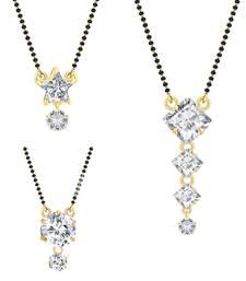 Buy White cubic zirconia jewellery-combo jewellery-combo online