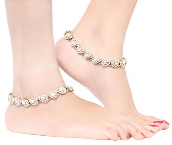 Exclusive Trendy Designer Jewellery Anklets For Womens