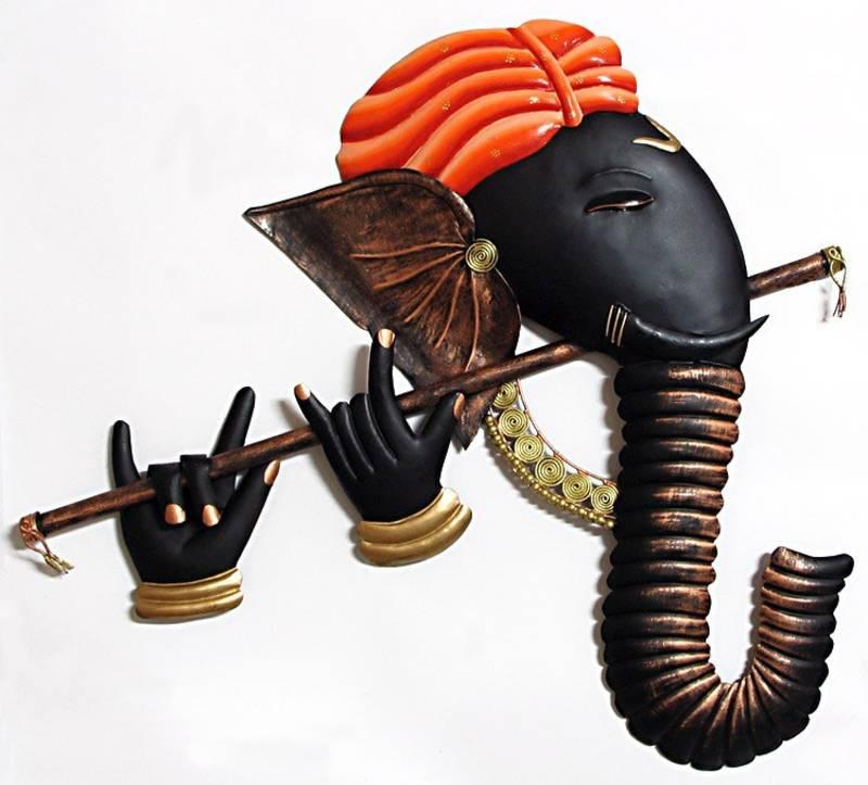 Ganesh Wall Art buy murlidhar ganesha wall hanging online