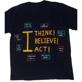 I THINK I BELIEVE I ACT - T-SHIRT
