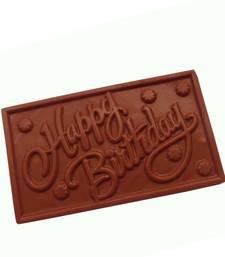 Buy Homemade chocolates happy birthday chocolate birthday-gift online