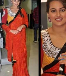 Buy Sonakshi sinha r...rajkumar movie promotion bollywood replica saree sonakshi-sinha-saree online