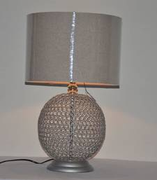 Buy Decorative Iron with Wooden Table Lamp table-lamp online