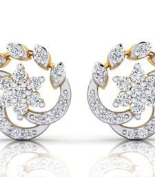 Buy 0.324ct Yellow Diamond gemstone-earrings gemstone-earring online