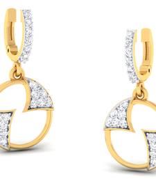 Buy 0.45ct Yellow Diamond gemstone-earrings gemstone-earring online