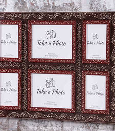 Buy Photo Frame 4x6 18 Inch X 24 Inch Photo Collage | Textured Frame ... photo-frame online