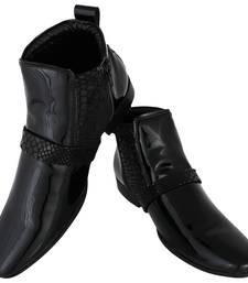 Buy Black Macho Boots men-shoe online