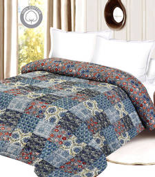 Buy Cozy & Soft Contemporary Print Double Bed Quilt quilt online