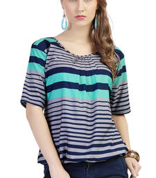 Buy women's multicolor digital print crepe top fashion-deal online