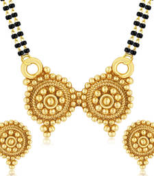 Buy Royal Gold Plated Mangalsutra Set For Women mangalsutra online