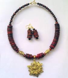 Buy Multicolor metallic necklace-sets collar-necklace online