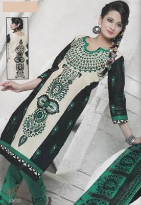 Dress Material Cotton Designer Prints Unstitched Salwar Kameez Suit D.No 10006