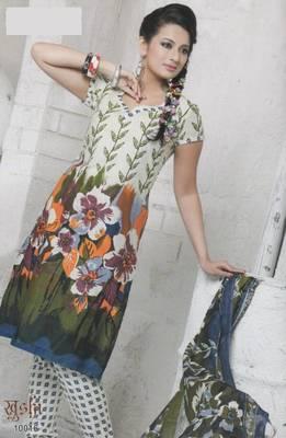 Dress Material Cotton Designer Prints Unstitched Salwar Kameez Suit D.No 10016