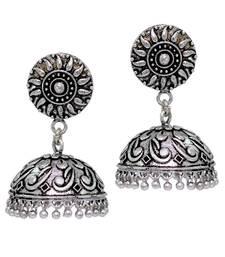 Buy Silver jhumkas jhumka online