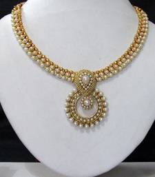 Buy White pearl necklace sets hot-deal online