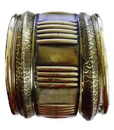 Buy Oxidised Brown bangle bangles-and-bracelet online