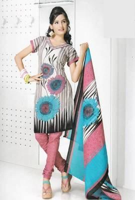 Dress Material Cotton Designer Prints Unstitched Salwar Kameez Suit D.No B10002
