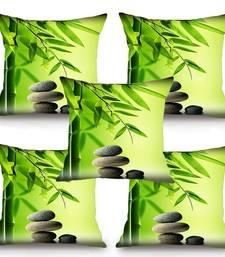 Buy Meditation Stones HD Digital Premium Cushion Cover - Set of 5 (16 x 16 Inch) cushion-cover online