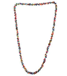 Buy Multi Color Beads Handmade Artificial Jewellery With Metal Thread And Beads party-jewellery online