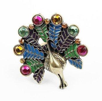 Vintage Peacock Ring(CFR0111)