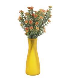 Buy Tangy orange decorative artificial flowers eid-gift online