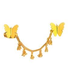 Buy Gold  plated Hath Phool haath-phool-hath-panja online