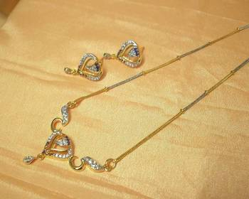 Heart-Shaped AD-CZ Pendant (MS Type)