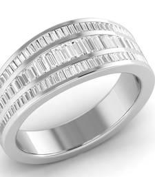 Buy Silver swarovski crystal rings Ring online