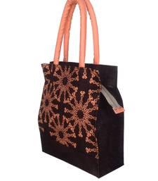 Buy Black Jute designer tote-bags tote-bag online