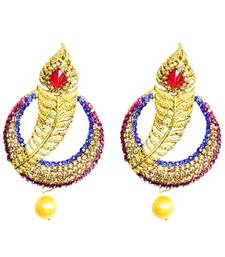 Buy Multicolor Diamond jewellery gemstone-earrings gemstone-earring online