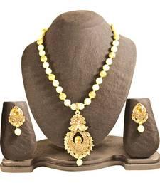 Buy Gold studded_jewellery gemstone-necklaces gemstone-necklace online
