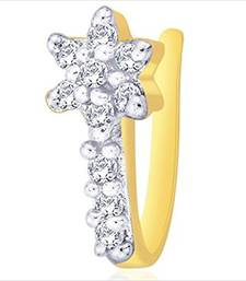 Buy Gold cubic zirconia nose-ring nose-ring online
