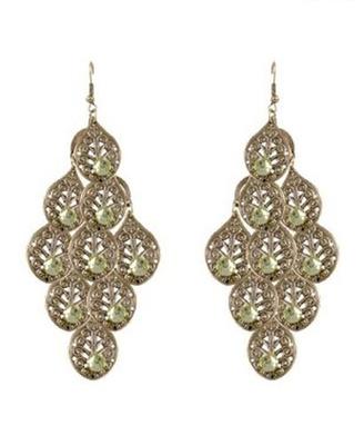 Ethnic Earrings with Austrian Diamonds