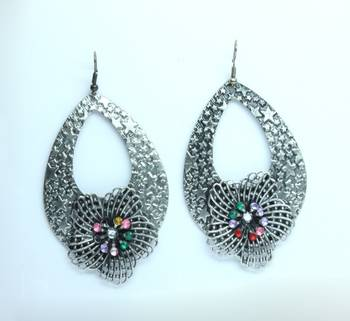 Multi Color Contemporary Style Earrings