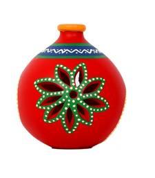 Buy Ethnic red tea light holder housewarming-gift online
