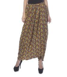 Buy Vedic Women's Geometric Print Dhoti Pants dhoti online