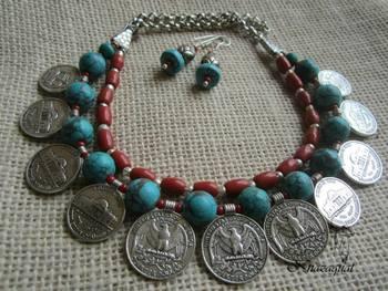 Antique Tibetan Necklace